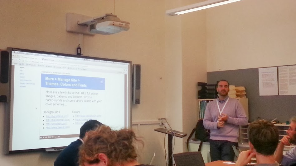 Presenting Google Sites More Than You Know at GIEsummit Prague